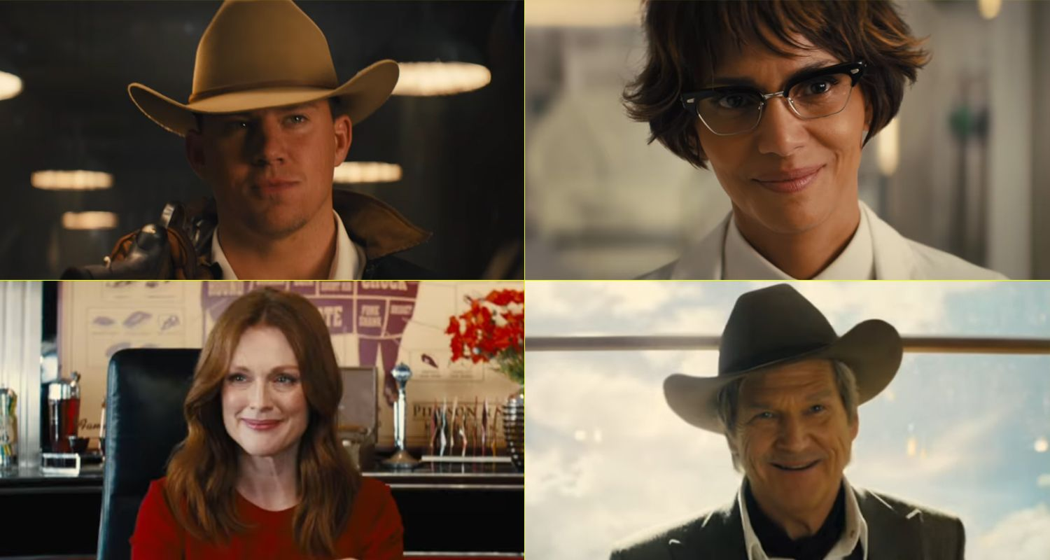 Actors from Kingsman: The Golden Circle