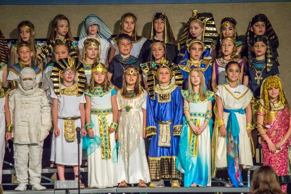 Egyptian Day At Ambrose